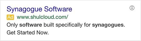 Google AdWords Ad