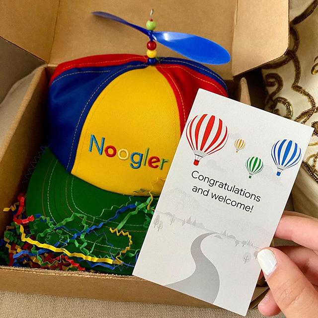 Google Noogler Hat Unboxing