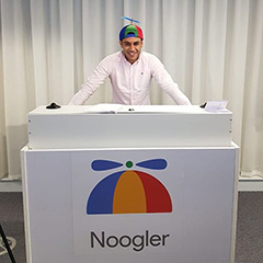 Noogler Podium At Google