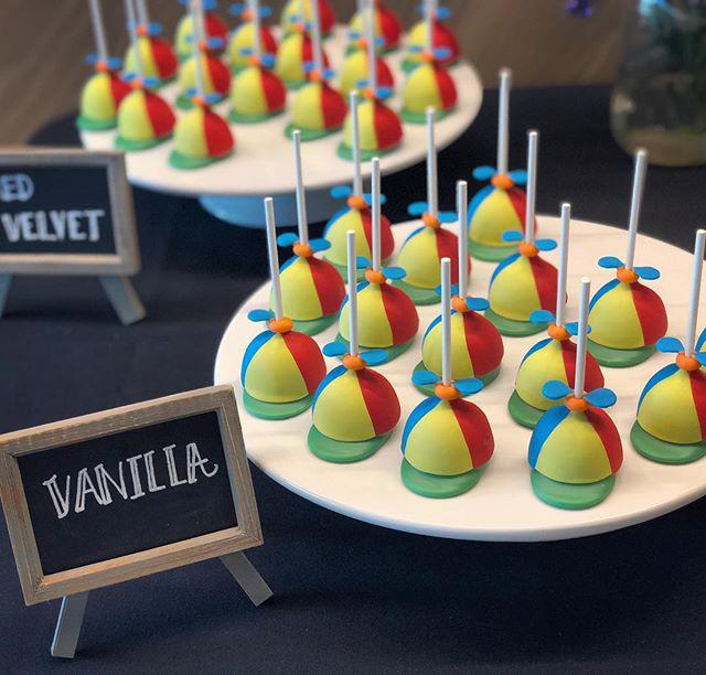 Google Noogler Cake Pops