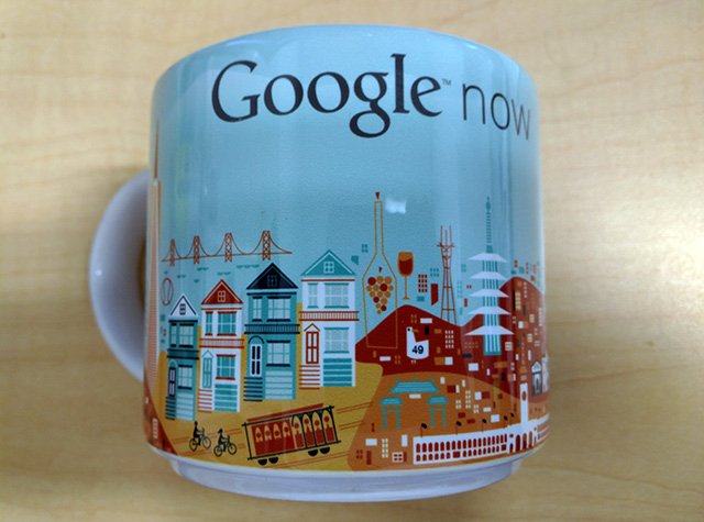 Google Now Coffee Mug