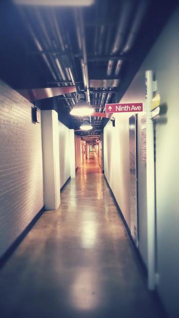Google New York Indoor Ninth Avenue Sign