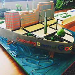 Google New York Office Celebrates 10 Years