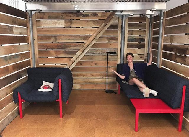 Google NYC Barn Room