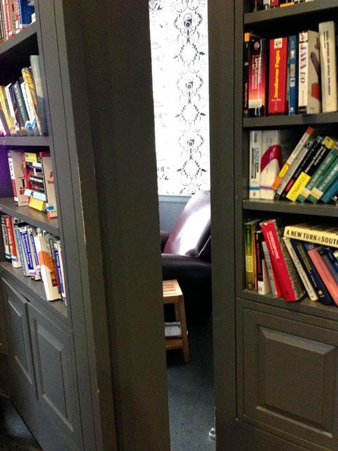 Google NYC Hidden Bookcase Doors