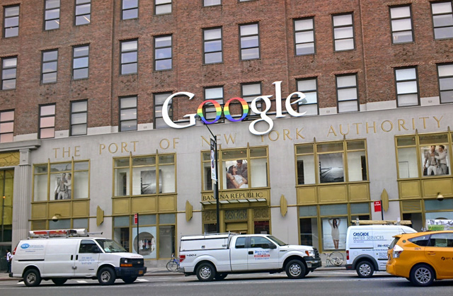 Gay Pride Added To GooglePlex & Google NYC Building Logos