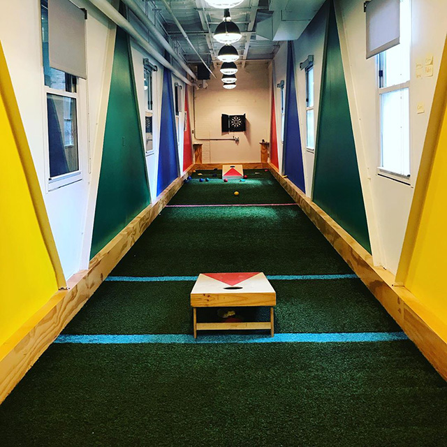 Google NYC Hidden Game Room