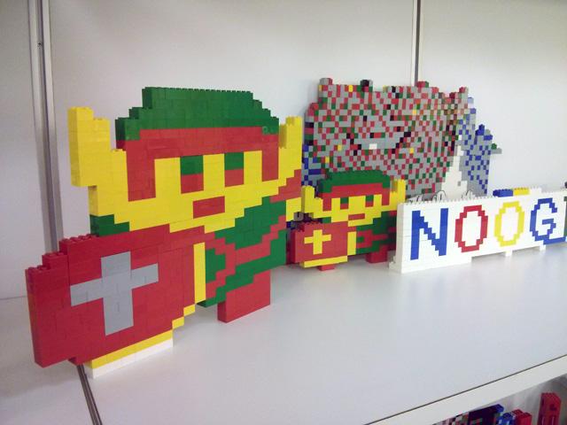 Google's NYC Lego Station