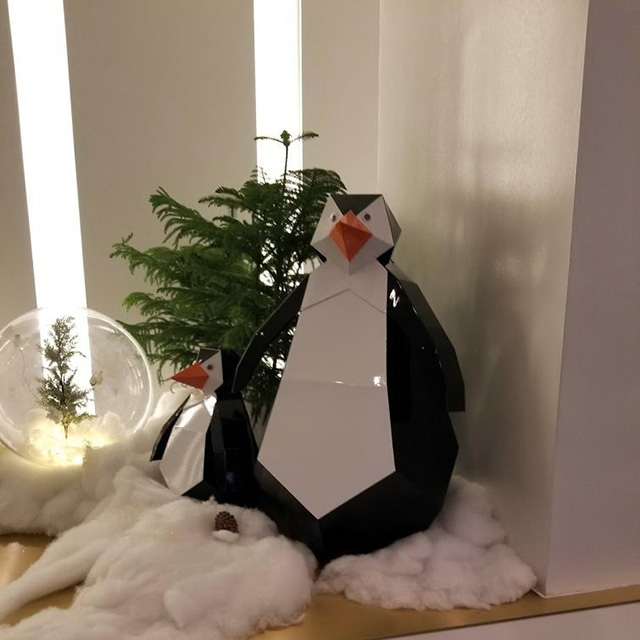Google NYC Office With Penguins