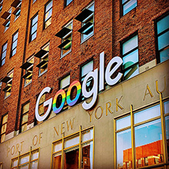 Google NYC Also Updates Sign For Pride Month