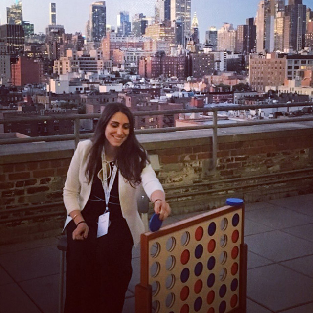 Google NYC Rooftop Connect Four Game