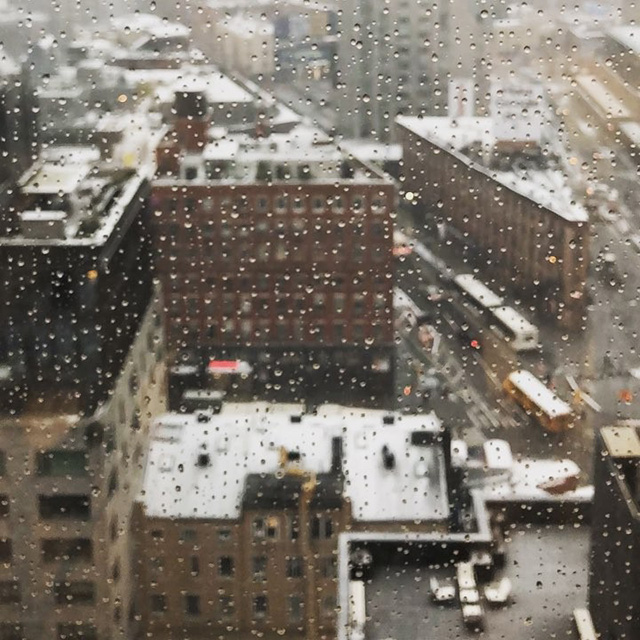 Google New York City Gets Snow