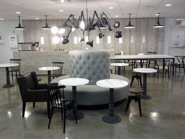 Google NYC Spider Lounge