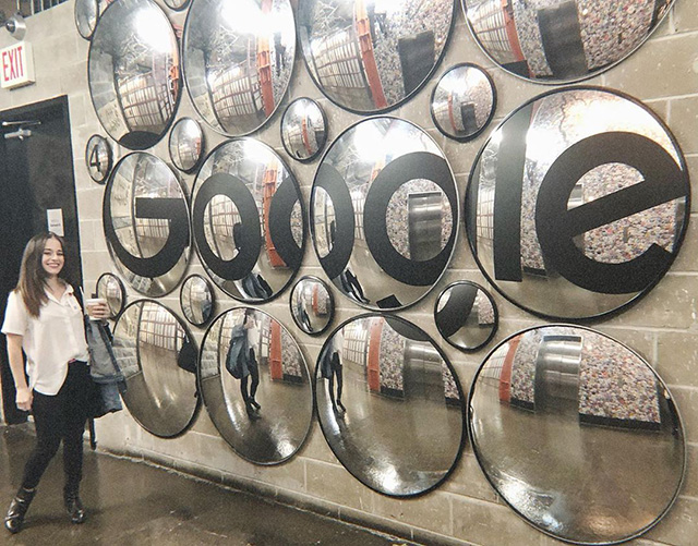 Google NYC Indoor Street Mirrors
