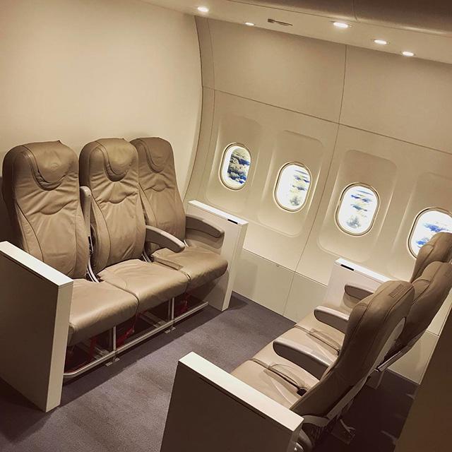 Google Hamburg Office With Airplane Seats