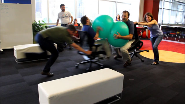 Google Office Jousting