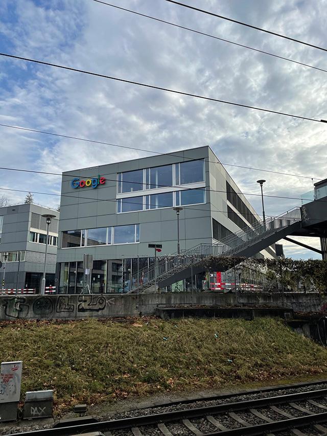 Google Office By Railroad Tracks