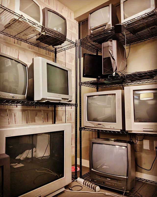 The Google Old Monitor Graveyard
