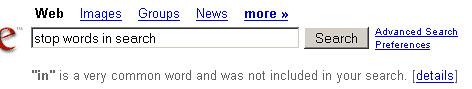 O Google diz que pare de se preocupar com palavras de parada, basta escrever naturalmente 3