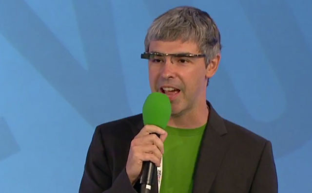 Google's Larry Page Green