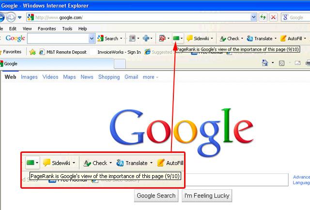 Google PageRank 9