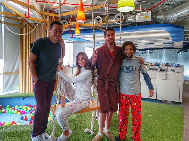 Google Pajama Day