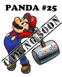 Google Panda #25 Soon