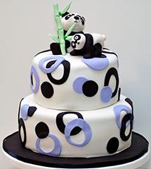 Google Panda Birthday Cake