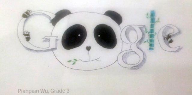 Google Panda Doodle