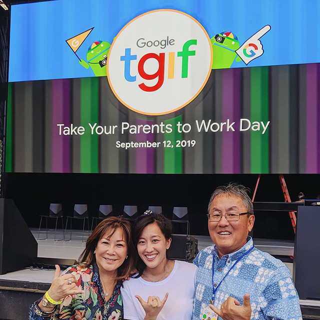 Google Take Your Parents To Work Day