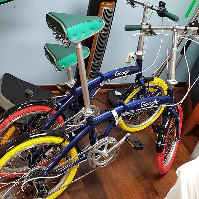 Google Partner Bikes