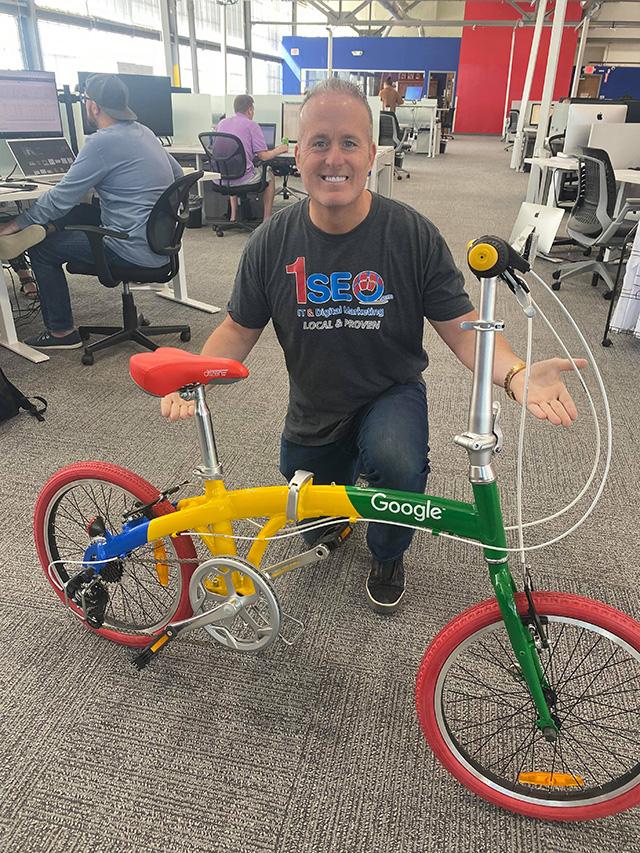 Google Partner Bike