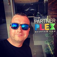 Google Partner Plex Entry Door