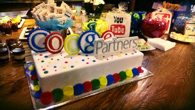 Google Partners Cake