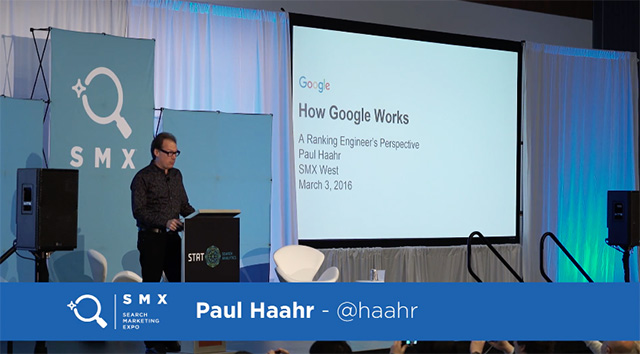 Paul Haahr Talk On How Google Works