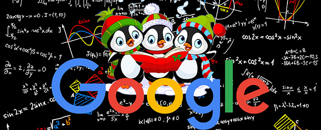 Google Penguin Holidays
