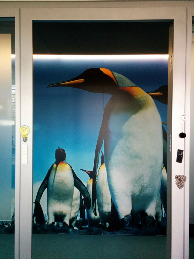 The Google Penguin Office