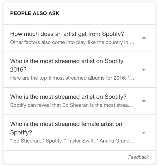 Google Tests Answers In People Also Ask Box Results