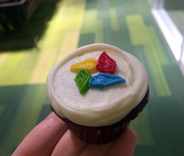 Google Photo Cupcakes