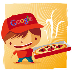 Google Pizza Delivery