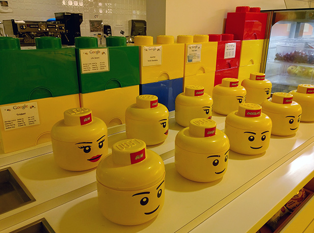 Google Play LEGO Room In New York City