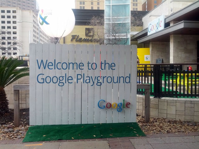 Google Playground At SXSW