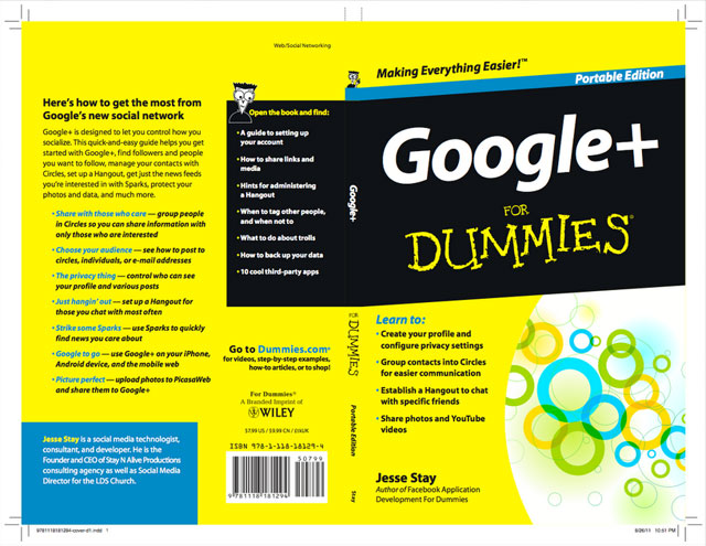 Google+ For Dummies Book Cover