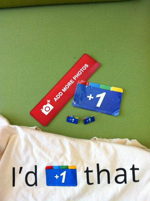 Google + Shwag: Pins, Shirts & More