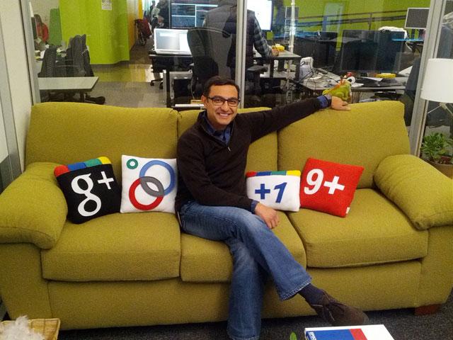 Google + Sofa