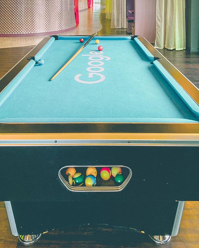 Google Dublin Pool Table