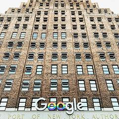 Google NYC Pride Logo Sign Up