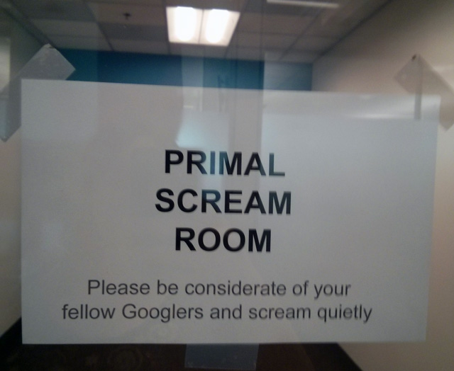 Google Scream Room