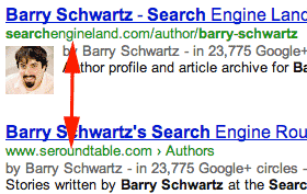 Google authorship connection