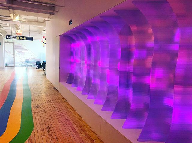 Google Psychedelic Hallways